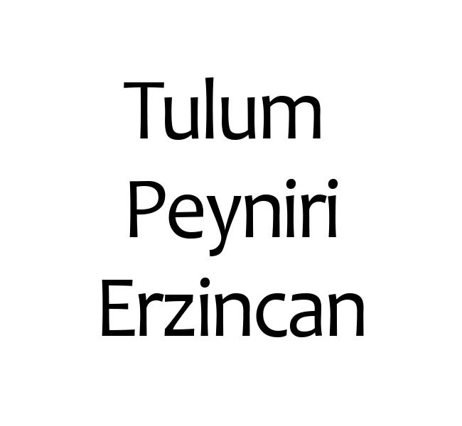 Tulum Peyniri Erzincan